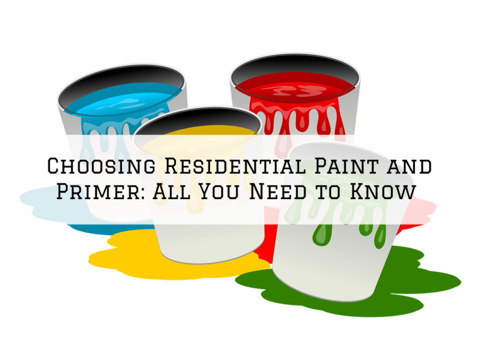 Choosing Residential Paint and Primer in Sherwood, Oregon_ All You Need to Know